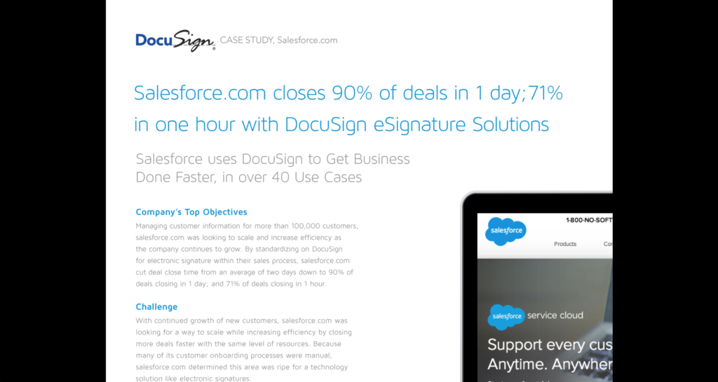 Docusign case study